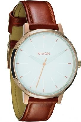 Nixon Ladies The Kensington Leather Watch A108-1045