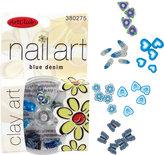 Sally Beauty Art Club Blue Denim Clay Nail Art