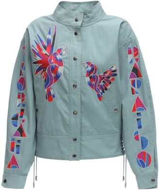 Isabel Marant Goldy Embroidered Cotton Jacket