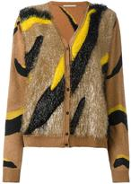 Marco De Vincenzo striped button down cardigan - women - Polyamide/Viscose - 42