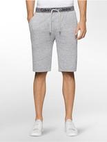 Calvin Klein Logo Fleece Shorts