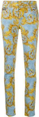 Versace Baroque Print Jeans