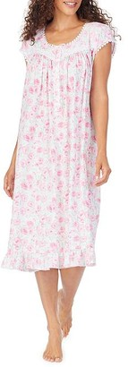 Eileen West Artist's Rose Modal Nightgown
