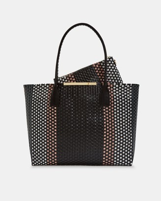 Ted Baker Large Woven Tote Bag