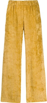 Peserico micro pleated trousers