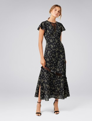 Forever New Lara Lace Insert Maxi Dress - Spring Ditsy - 4
