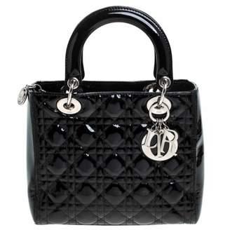 Christian Dior My Lady Black Patent leather Handbags