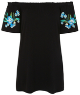 George Embroidered Bardot Top
