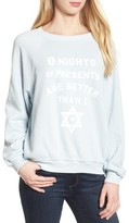 Wildfox Couture Women's Eight Nights Of Presents Sweater