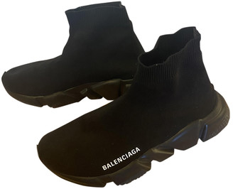 Balenciaga Speed Black Rubber Trainers