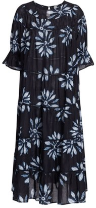 Merlette New York Paradis Shibori Midi Dress
