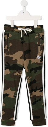 Mostly Heard Rarely Seen 8 Bit Camouflage Print Track Pants