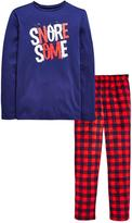 Very LUMBERJACK CHECK XMAS PJ SET