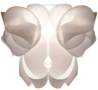 Kaigami Pigna Light Shade, Ivory/White, Large