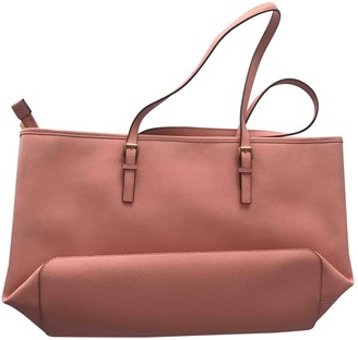 Michael Kors Jet Set Pink Leather Travel bags