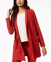 Eileen Fisher Washable Crepe Kimono Jacket, Regular & Petite