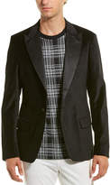 Scotch & Soda Velvet Party Regular Fit Blazer