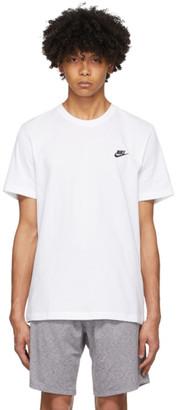 Nike White Club T-Shirt