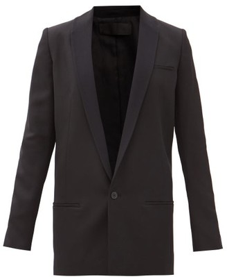 Haider Ackermann Miles Single-breasted Wool Smoking Jacket - Black