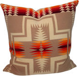 One Kings Lane Vintage Early Pendleton Cayuse Camp Pillow