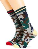Pepe Jeans Men's Zain Calf Socks,(Manufacturer Size:9 to 11)
