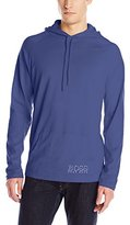 HUGO BOSS BOSS Men's UPF 50 Hooded Long-Sleeve Swim Shirt