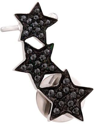 Alinka STASIA Triple Star diamond right ear cuff