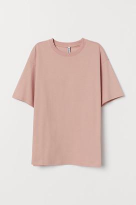 H&M Wide cotton T-shirt