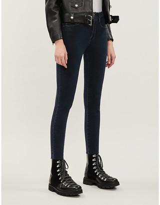 Good American Good Legs Raw Edge stretch-denim jeans