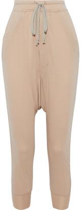 Rick Owens Lilies Stretch-jersey Harem Pants