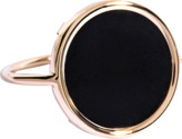ginette_ny Black Onyx Disc Ring