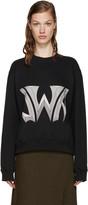 J.W.Anderson Black New Logo Pullover