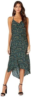 BCBGeneration Cowl Neck Dress TJQ6235277 (Teal) Women's Dress