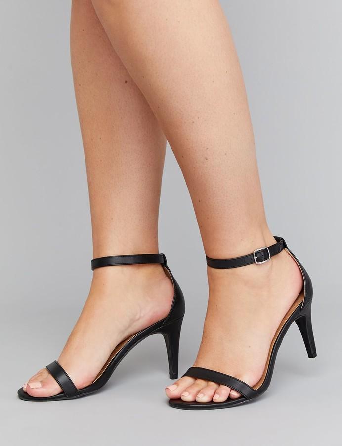 Heel Strap Ankle Tall High Thin Sandal QoexdCBrW