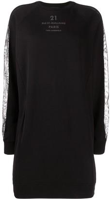 Karl Lagerfeld Paris Logo-Print Sweatshirt Dress