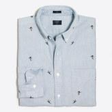 J.Crew Factory Slim printed oxford shirt
