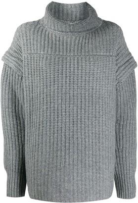 LOULOU STUDIO Parata drop-shoulder sweater