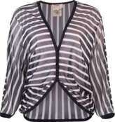 Fuzzi Striped Cardigan