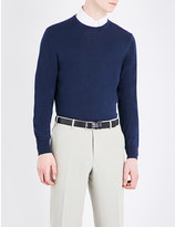 Canali Crewneck knitted jumper