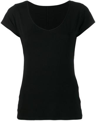 Styland scoop neck T-shirt