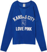 PINK Kansas City Royals Cutout Choker Varsity Crew