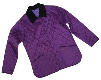 Barbour Purple Jacket for Women