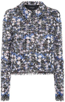 Giambattista Valli Floral tweed jacket