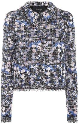 Giambattista Valli Floral tweed jacket