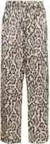 Edward Crutchley snake print trousers