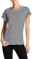 Genetic Los Angeles Alexis Short Sleeve Striped Tee