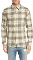 Current/Elliott Men's Classic Fit Plaid Sport Shirt