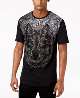 Reason Men's Beaded Wolf T-Shirt
