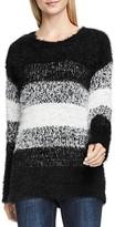 Vince Camuto Striped Eyelash Sweater