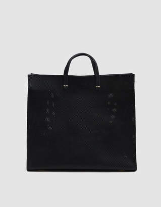 Clare Vivier Simple Leather Tote in Black